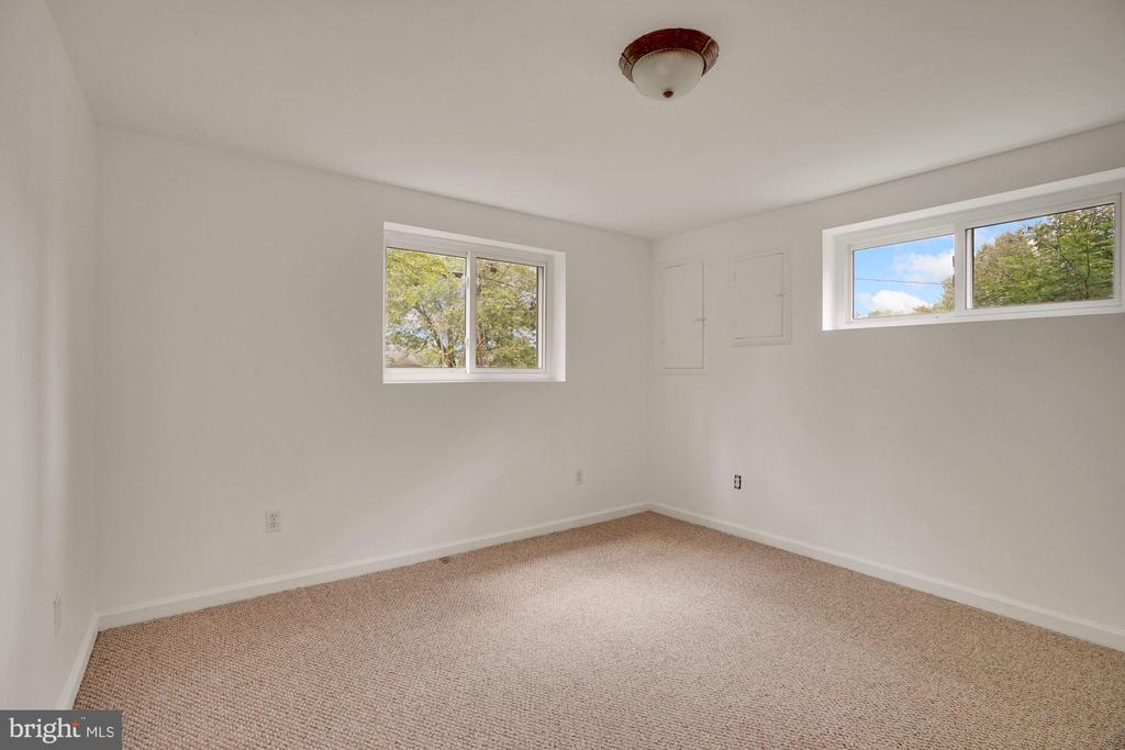 One of two bedrooms on lower level - 5905 DEWEY DR, ALEXANDRIA