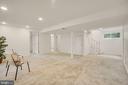 Large rec room & 2 more bedrooms - 5905 DEWEY DR, ALEXANDRIA