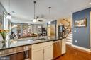Granite countertops & pendant lighting - 1418 N RHODES ST #B-112, ARLINGTON