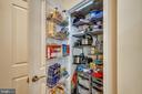 Huge pantry closet with tons of storage space - 1418 N RHODES ST #B-112, ARLINGTON