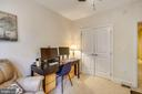 Large closet with French double door - 1418 N RHODES ST #B-112, ARLINGTON