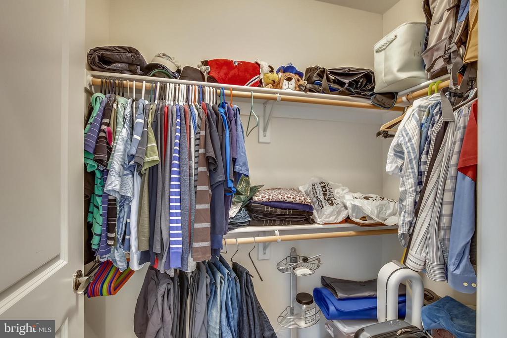 Walk-in closet in the primary bedroom - 1418 N RHODES ST #B-112, ARLINGTON