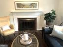 Wood burnign fireplace - 5905 DEWEY DR, ALEXANDRIA