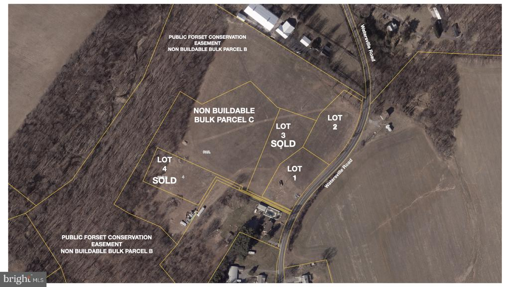 Aerial View - 530 WATERSVILLE RD, MOUNT AIRY
