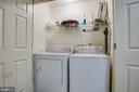 Laundry in Kitchen area - 11515 BEND BOW DR, FREDERICKSBURG