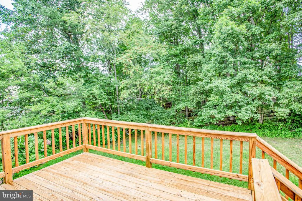 Rear View from Deck - 11515 BEND BOW DR, FREDERICKSBURG