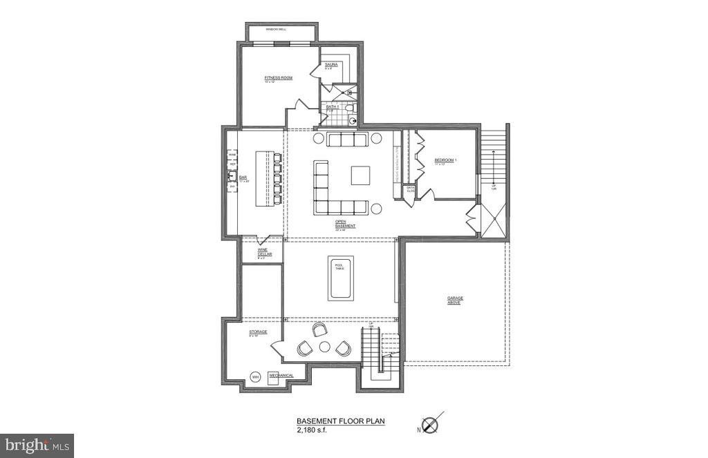 Lower Level - floor plan - 202 ELM ST SW, VIENNA