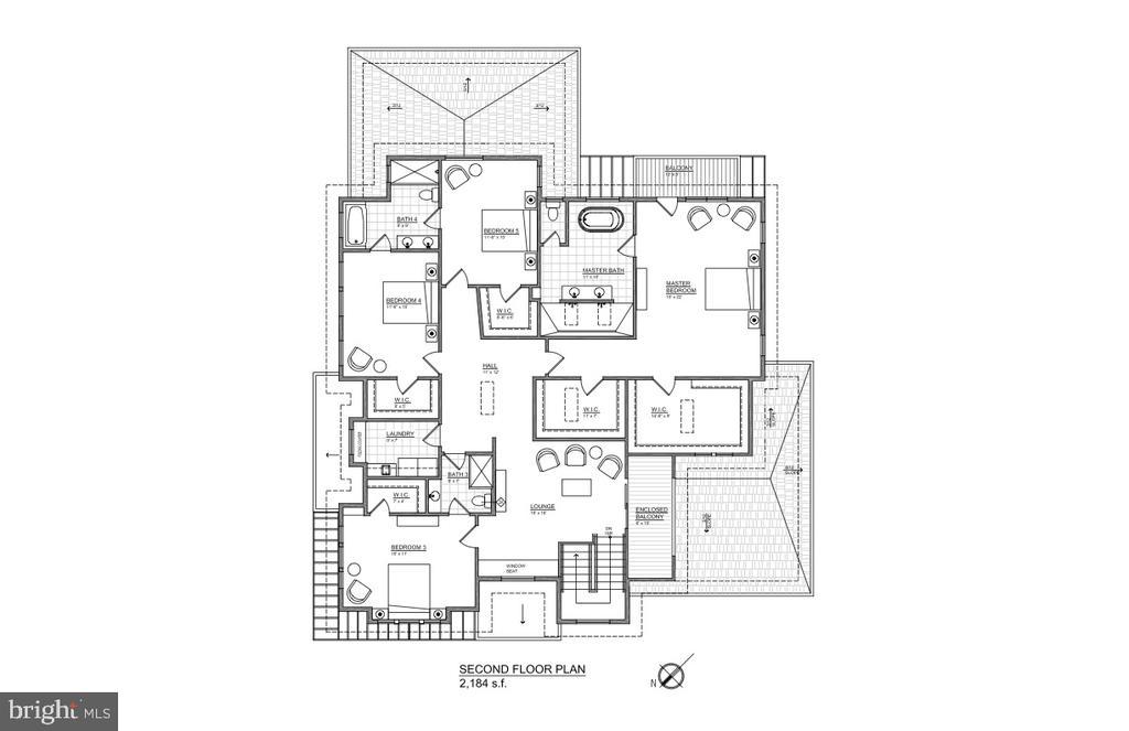 Upper Level - floor plan - 202 ELM ST SW, VIENNA