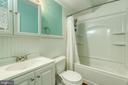Full bath in basement - 104 STABLE CV, STAFFORD