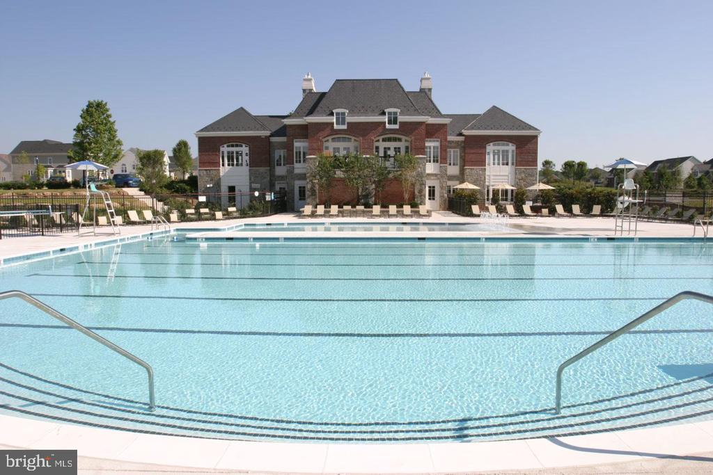 One of the community's four pools - 22469 VERDE GATE TER, BRAMBLETON