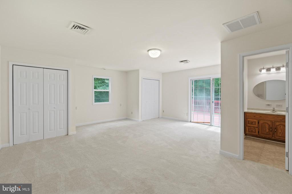 Primary Bedroom with two closets - 781 COURTHOUSE RD, STAFFORD