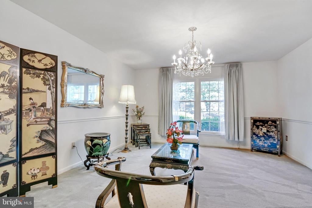 Living Room - 8927 BURBANK RD, ANNANDALE