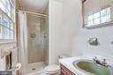 Full bath on main level near laundry - 8927 BURBANK RD, ANNANDALE