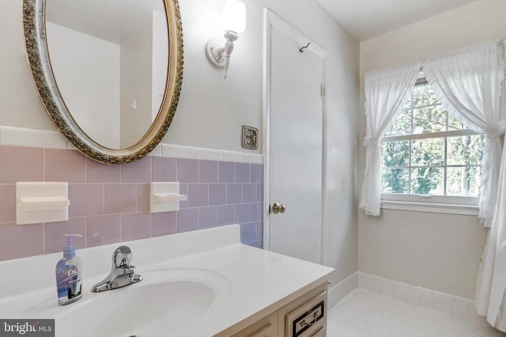 Lots of natural light in Master Bathroom - 8927 BURBANK RD, ANNANDALE