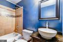 Lower Level Bath - 17053 LOFTRIDGE LN, GAINESVILLE