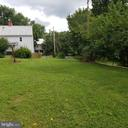 Back of Yard/Side of House Property - 11020 HESSONG BRIDGE RD, THURMONT