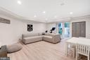 Lower Level Recreation Room with Lockers - 3315 HIGHLAND PL NW, WASHINGTON