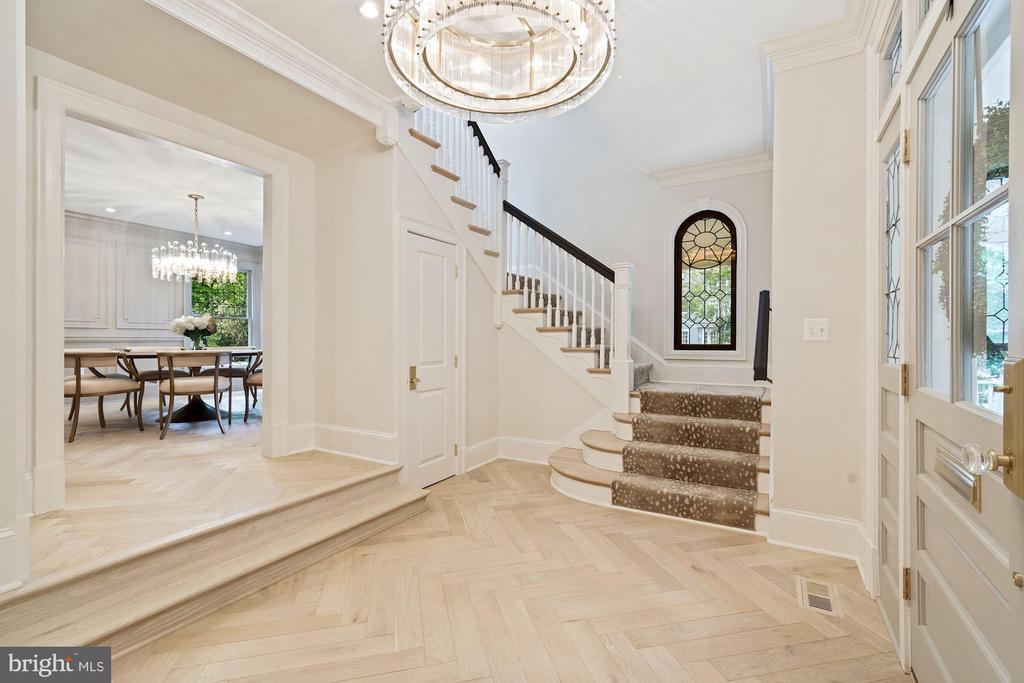 Engineered Monarch Herringbone Floors - 3315 HIGHLAND PL NW, WASHINGTON