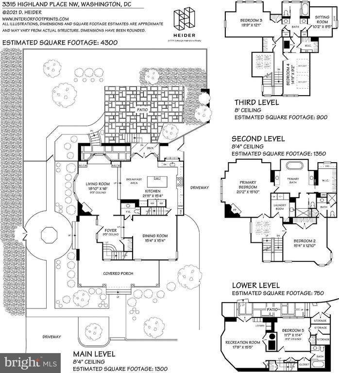 Floor Plans - 3315 HIGHLAND PL NW, WASHINGTON