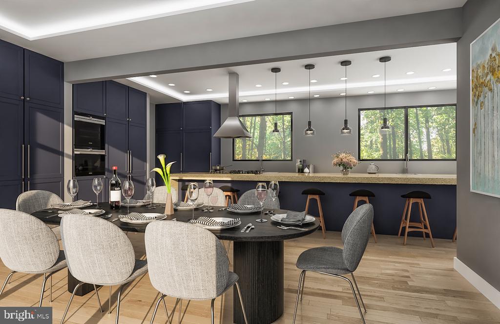 Conceptual Optional Kitchen - 3632 36TH RD N, ARLINGTON