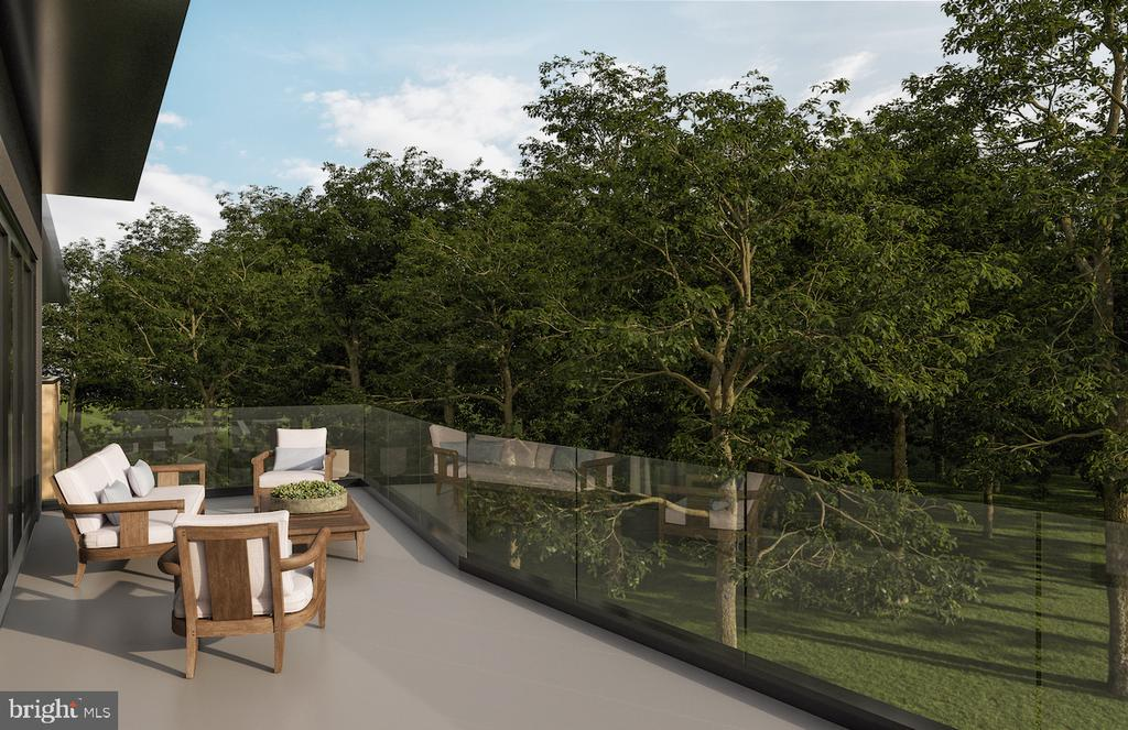 Conceptual -Upper Level Balcony from Owners Suite - 3632 36TH RD N, ARLINGTON