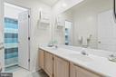 Second Full bath on the upper level - 15997 KENSINGTON PL, DUMFRIES