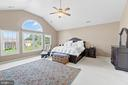 Spacious Primary Bedroom full of natural light - 15997 KENSINGTON PL, DUMFRIES