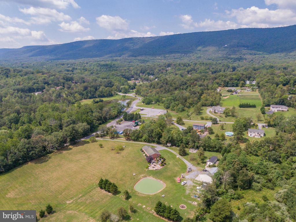 Drone view ... imagine fall foliage beauty! - 140 BOWMAN LN, WINCHESTER