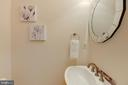 Main level half bath - 47642 WINDRIFT TER, STERLING