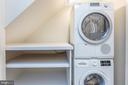 Lower level laundry with Bosch appliances - 47642 WINDRIFT TER, STERLING