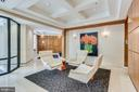Lovely lobby for neighbor chats - 1830 FOUNTAIN DR #1008, RESTON