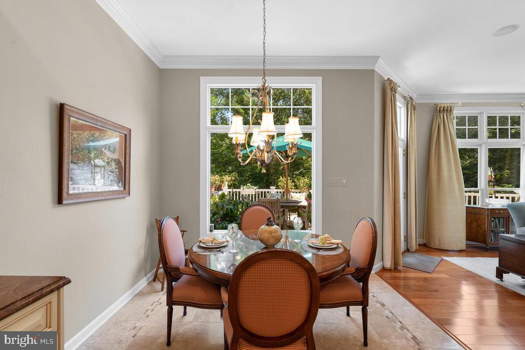 Informal Dining area - 20260 ISLAND VIEW CT, STERLING