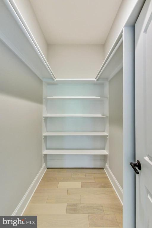 2nd Master Bedroom, Walk-in Closet - 3104 SLEEPY HOLLOW RD, FALLS CHURCH