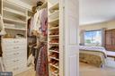 Primary Bedroom Closet - 2151 JAMIESON AVE #2109, ALEXANDRIA