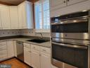 Crisp white cabinets and stainless appliances - 25452 CROSSFIELD, CHANTILLY