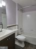Full Bathroom in Basement - adjacent to 4th space - 25452 CROSSFIELD, CHANTILLY