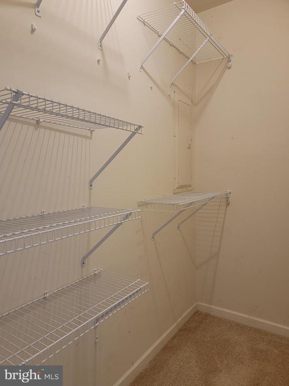 Walk-in closet in Basement 4th space - 25452 CROSSFIELD, CHANTILLY