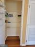 Deep Linen Closet next to laundry - 25452 CROSSFIELD, CHANTILLY