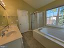 Primary Bathroom with TUB and Separate Shower - 25452 CROSSFIELD, CHANTILLY