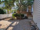 Level Back Yard Space  - Private & EZ to maintain - 25452 CROSSFIELD, CHANTILLY