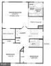 Approximate Upper Level Floor-plan - 25452 CROSSFIELD, CHANTILLY