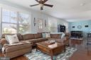 Spacious, entertainment-ready living area - 22469 VERDE GATE TER, BRAMBLETON