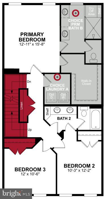 Third Level Floor Plan - 1470 MEADOWLARK GLEN RD, DUMFRIES
