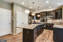 Upscale Kitchen with Granite and Stainless Steel - 530 WATERSVILLE RD, MOUNT AIRY