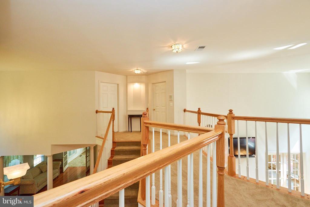 2nd level hallway views - 619 BRECKENRIDGE WAY, SHENANDOAH JUNCTION