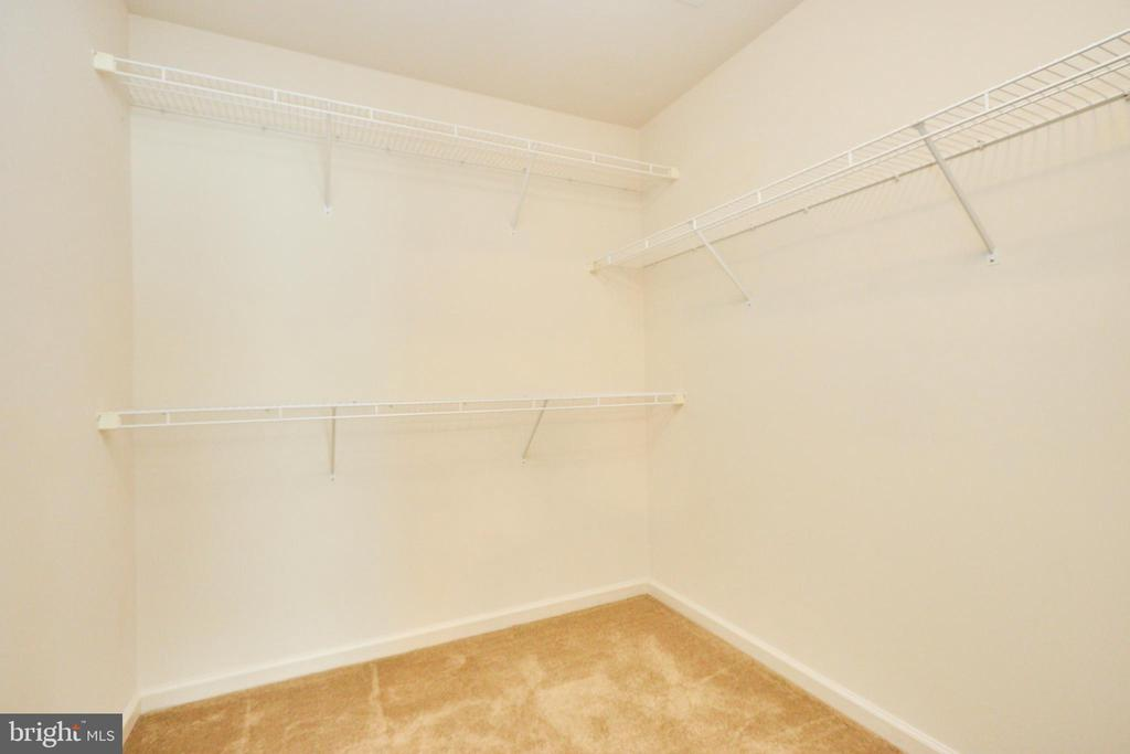 One of two large walk in closets - 619 BRECKENRIDGE WAY, SHENANDOAH JUNCTION