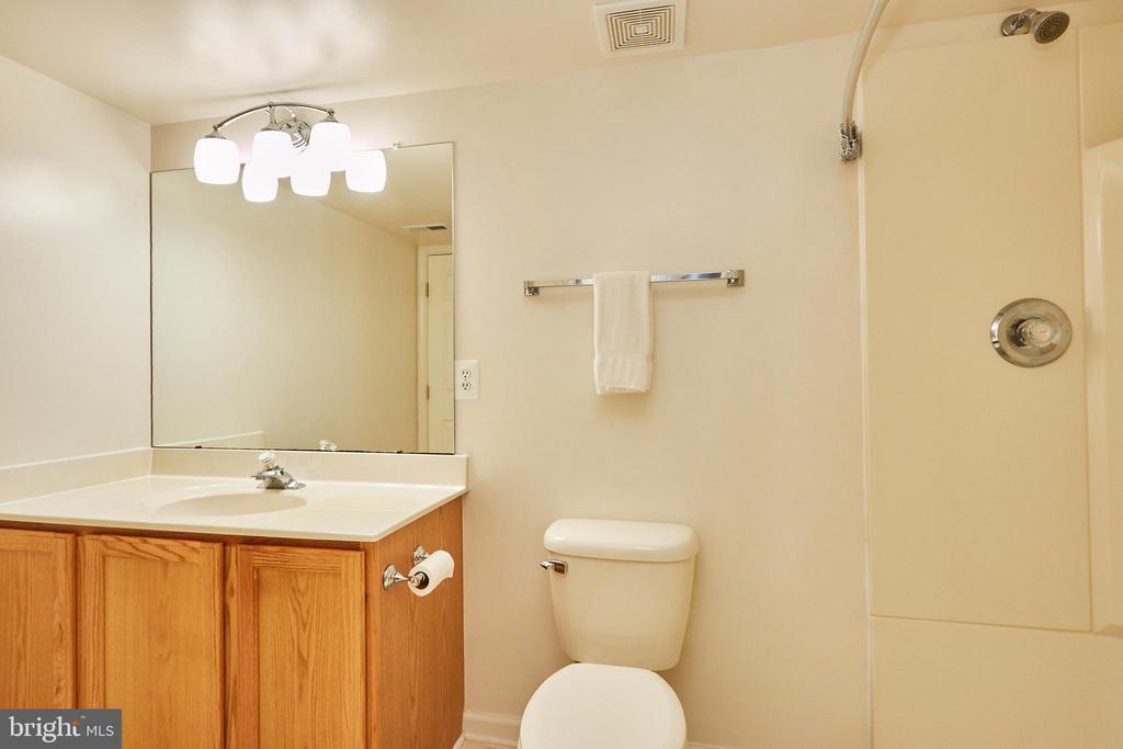 Lower level full bath - 619 BRECKENRIDGE WAY, SHENANDOAH JUNCTION