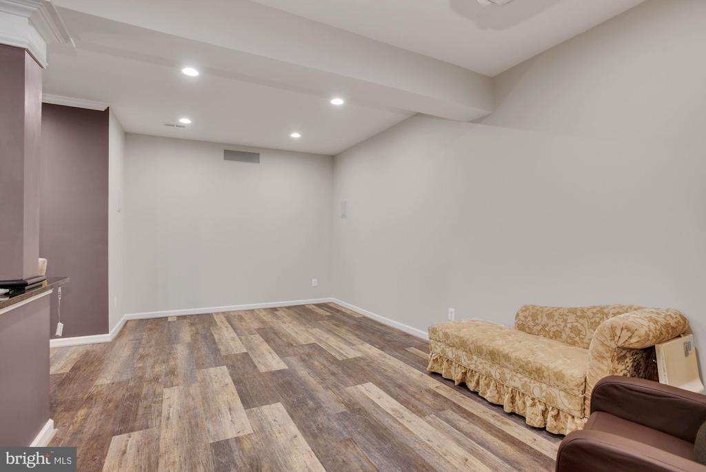 Media Area in Lower Level Rec Room - 41192 BLACK BRANCH PKWY, LEESBURG