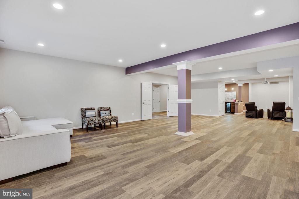 Game and Rec Room in Lower Level - 41192 BLACK BRANCH PKWY, LEESBURG