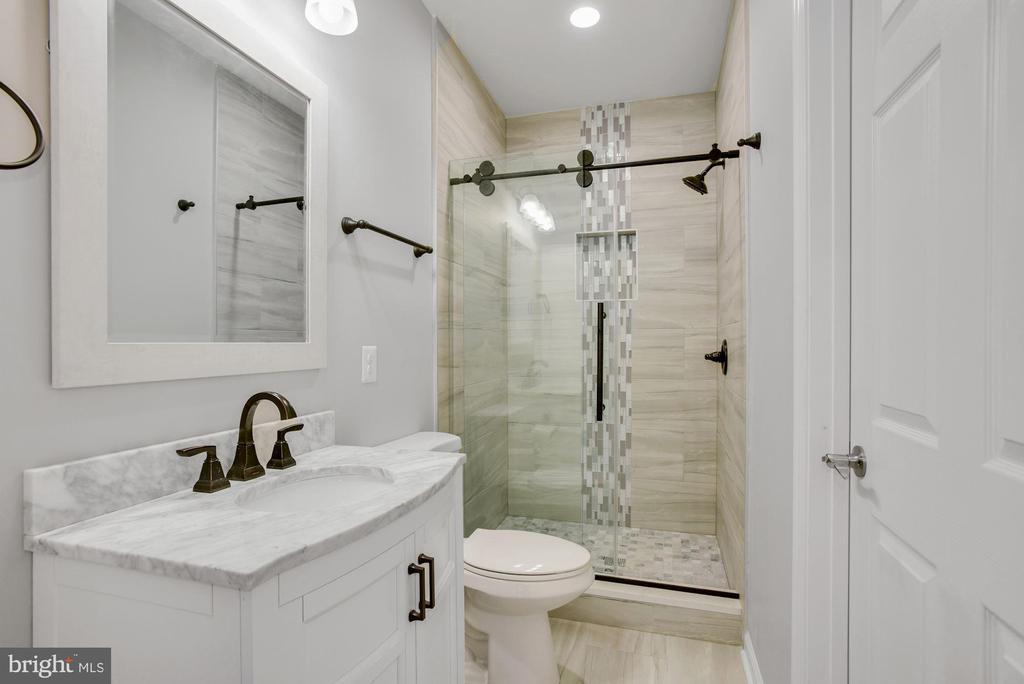 Guest Bathroom in Lower Level - 41192 BLACK BRANCH PKWY, LEESBURG